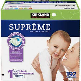 Supreme Diapers Size 1-2