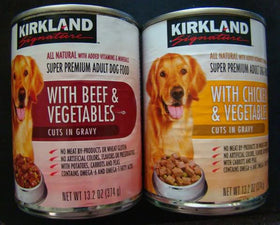 Canned Dog Food - Beef