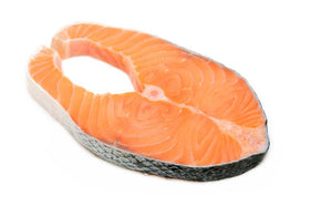 Fresh Atlantic Salmon Steak (Farmed)