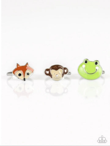 Paparazzi Accessories - Starlet Shimmer - Animal Rings