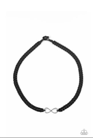 Paparazzi Accessories - Right On MARITIME - Black Urban Necklace