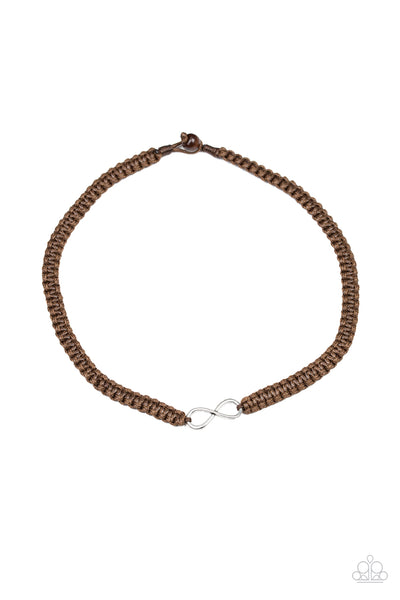 Paparazzi Accessories - Right On MARITIME - Brown Necklace - JMJ Jewelry Collection