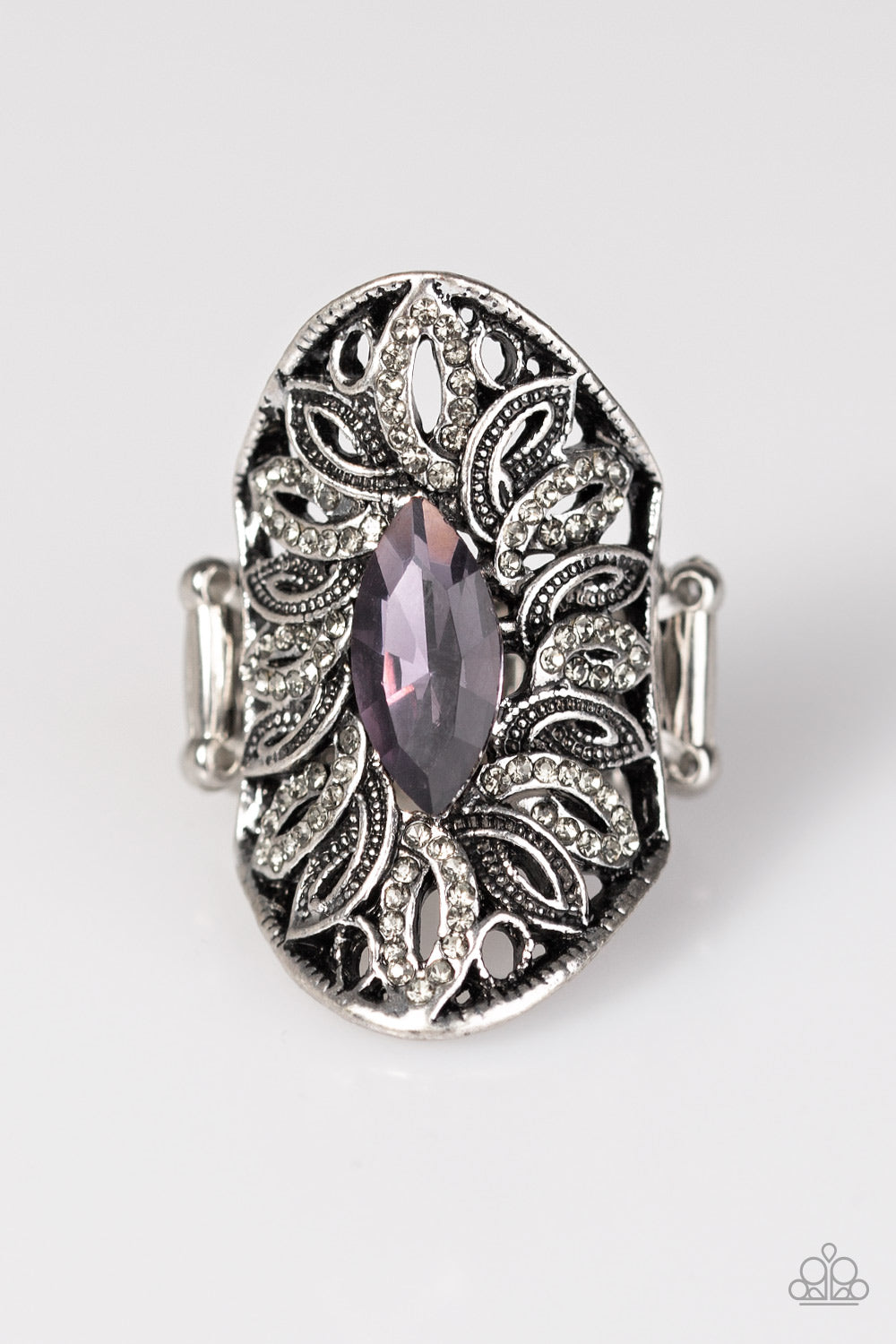 Paparazzi Accessories - Royal Essence - Purple Ring - JMJ Jewelry Collection