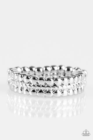 Paparazzi Accessories - Tres Chic - Silver Ring - JMJ Jewelry Collection