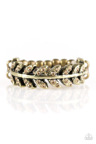 Paparazzi Accessories - Harvest Haven - Brass Ring - JMJ Jewelry Collection