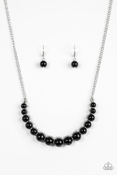 Paparazzi Accessories - The FASHION Show Must Go On! - Black Necklace Set - JMJ Jewelry Collection