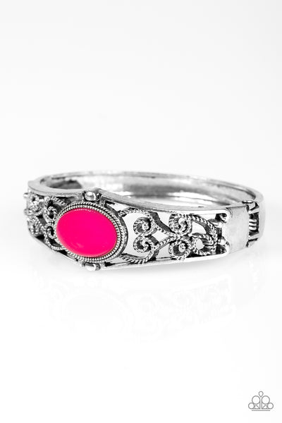 Paparazzi Accessories - Joyful Journeys - Pink Bracelet - JMJ Jewelry Collection