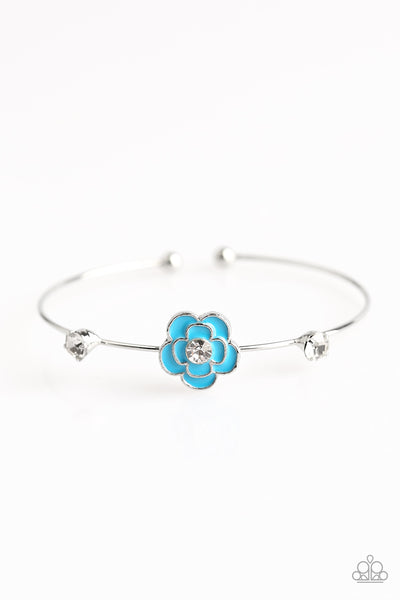 Paparazzi Accessories - Starlet Shimmer - Flower Bracelet - JMJ Jewelry Collection