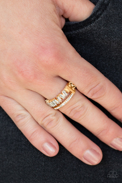 Paparazzi Accessories - Royal Treasure Chest - Gold Ring - JMJ Jewelry Collection