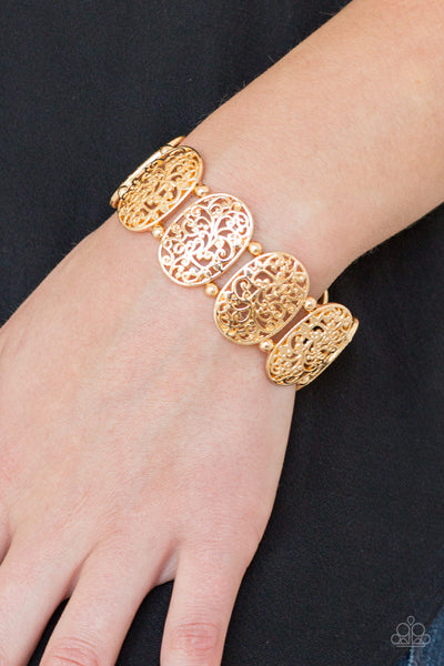 Paparazzi Accessories - Everyday Elegance - Gold Bracelets - JMJ Jewelry Collection