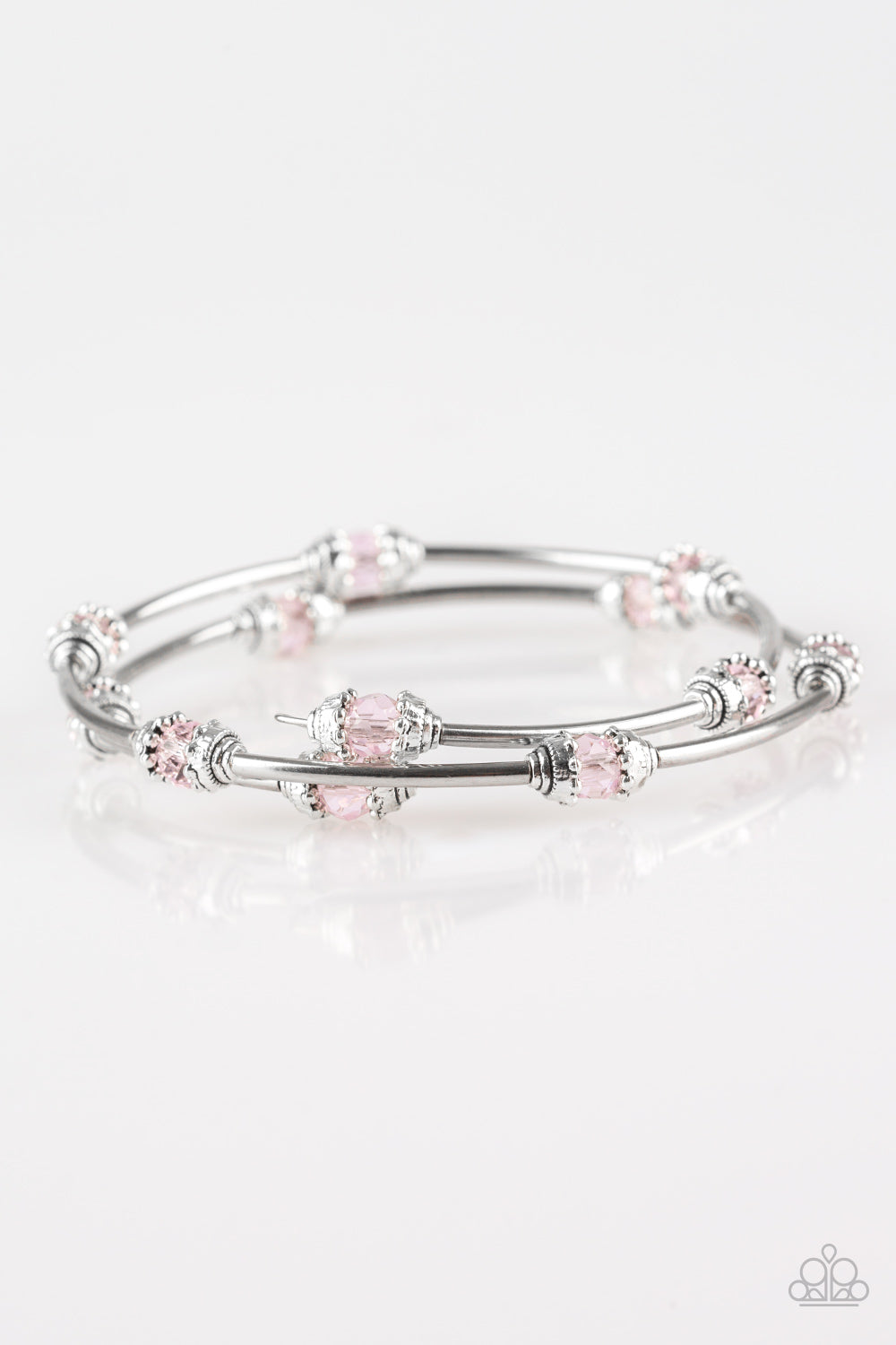 Paparazzi Accessories - Into Infinity - Pink Bracelets - JMJ Jewelry Collection