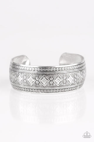 Paparazzi Accessories - Gorgeously Gypsy - Silver Bracelet - JMJ Jewelry Collection