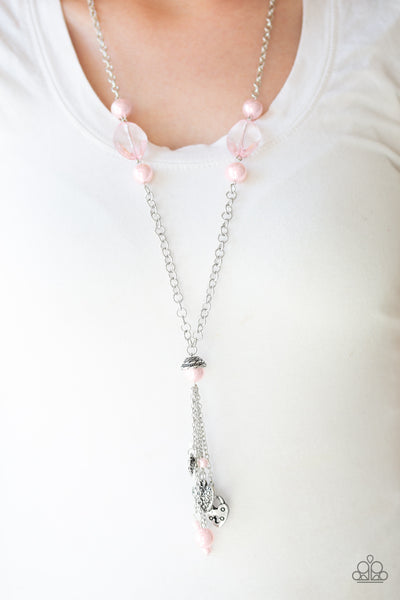 Paparazzi Accessories - Heart-Stopping Harmony - Pink Necklace Set - JMJ Jewelry Collection