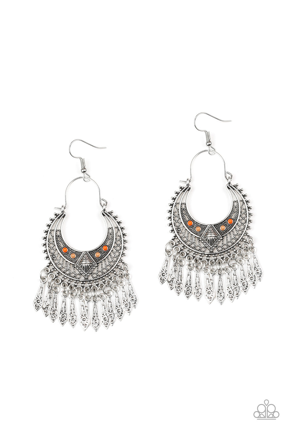 Paparazzi Accessories - Walk On The Wildside - Multicolor Earrings - JMJ Jewelry Collection