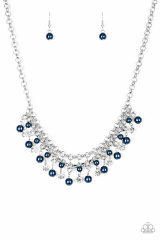 Paparazzi Accessories - You May Kiss the Bride - Blue Necklace Set