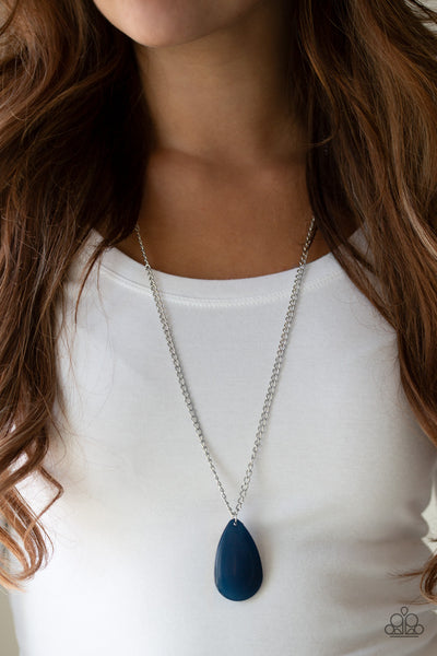 Paparazzi Accessories - So Pop-YOU-lar - Blue Necklace Set - JMJ Jewelry Collection