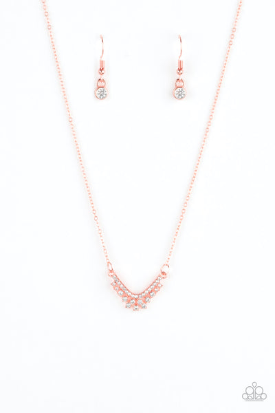 Paparazzi Accessories - Classically Classic - Copper Necklace Set - JMJ Jewelry Collection