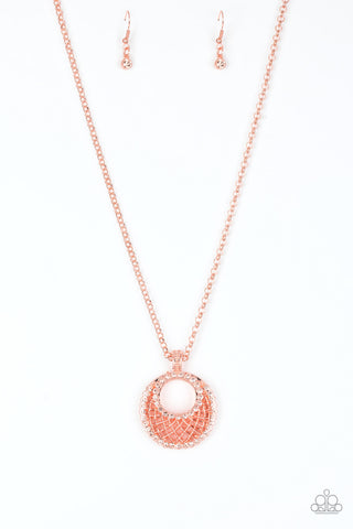 Paparazzi Accessories - Net Worth - Copper Necklace