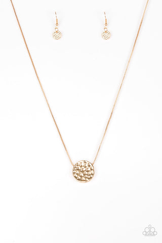 Paparazzi Accessories - The BOLD Standard - Gold Necklace