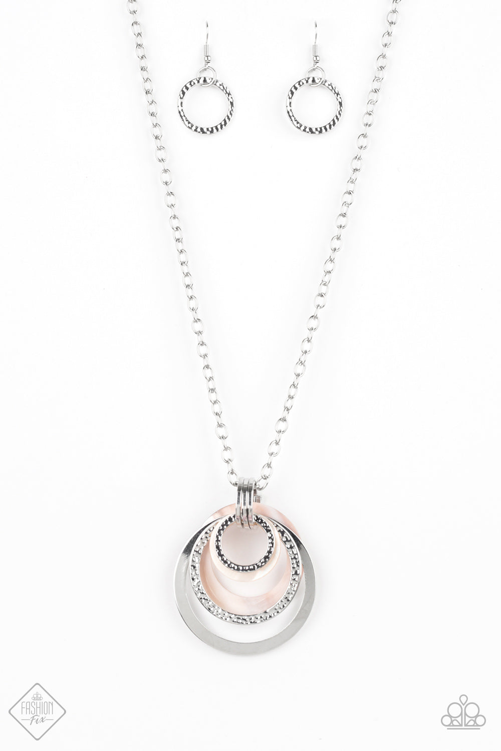Paparazzi Accessories - Coast Coasting - Silver Necklace Set - JMJ Jewelry Collection