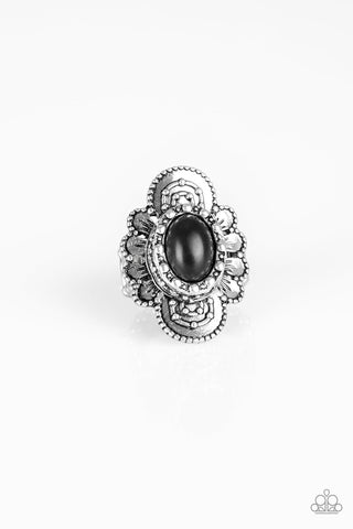 Paparazzi Accessories - Basic Element - Black Ring - JMJ Jewelry Collection