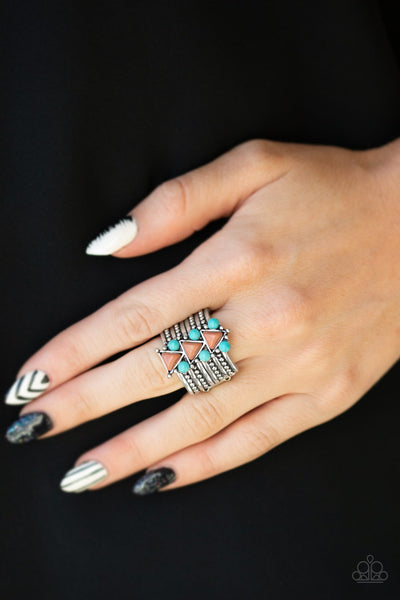 Paparazzi Accessories - Point Me To Phoenix - Brown Ring - JMJ Jewelry Collection