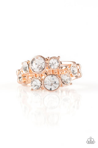 Paparazzi Accessories - Interstellar Fashion - Rose Gold Ring - JMJ Jewelry Collection