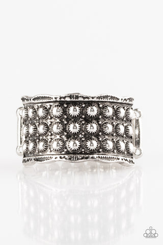 Paparazzi Accessories - Call To Arms - Silver Rings - JMJ Jewelry Collection