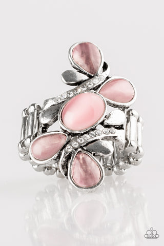 Paparazzi Accessories - Bliss Out - Pink Ring - JMJ Jewelry Collection