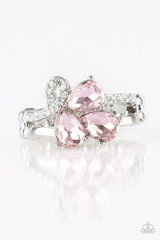 Paparazzi Accessories - Friends In High-End Places - Pink Ring - JMJ Jewelry Collection