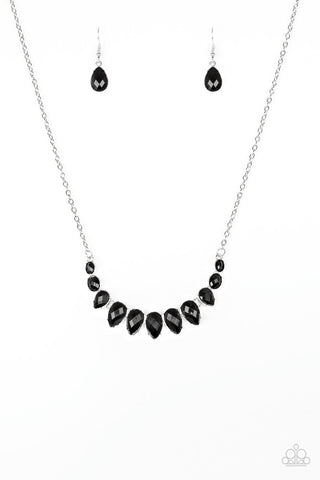 Paparazzi Accessories - Maui Majesty - Black Necklace Set - JMJ Jewelry Collection