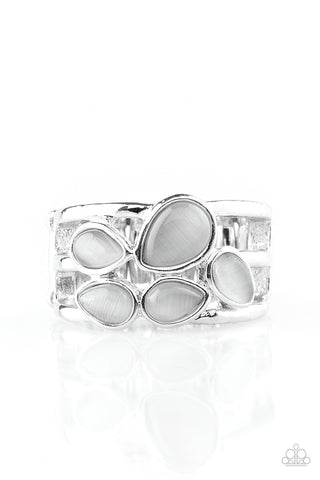 Paparazzi Accessories - Dreamy Glow - Silver Ring - JMJ Jewelry Collection