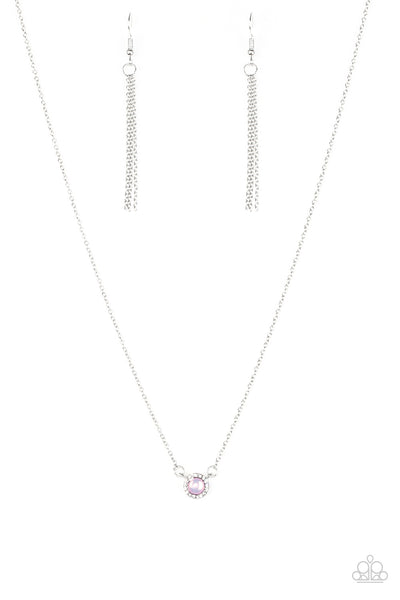 Paparazzi Accessories - Dreamy Dreamer - Pink Necklace Set - JMJ Jewelry Collection