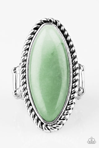 Paparazzi Accessories - Eco Ego - Green Ring - JMJ Jewelry Collection