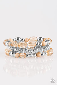 Paparazzi Accessories - Malibu Marina - Brown Bracelets - JMJ Jewelry Collection