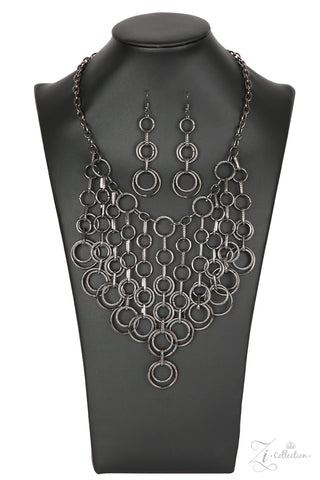 Paparazzi Accessories - Paramount - Z! Collection Necklace Set - JMJ Jewelry Collection