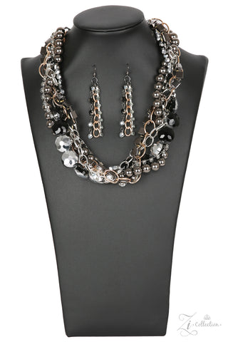 Paparazzi Accessories - Unapologetic - Z! Collection Necklace Set - JMJ Jewelry Collection