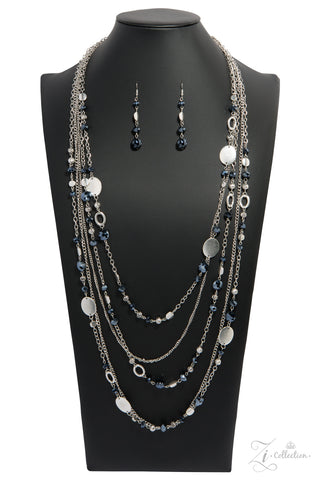 Paparazzi Accessories - Harmonious - Silver Necklace Set