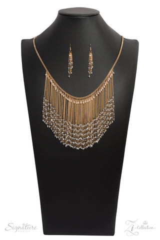 Paparazzi Accessories - The Donnalee - Z! Collection Necklace Set - JMJ Jewelry Collection