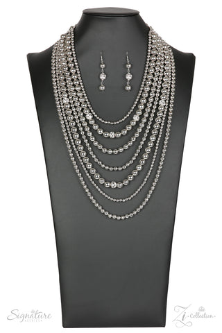 Paparazzi Accessories - The Tina - Z! Collection Necklace Set - JMJ Jewelry Collection