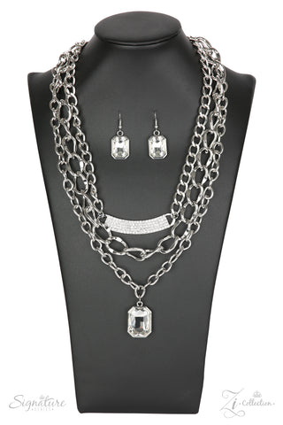 Paparazzi Accessories - The Stacy - Z! Collection Necklace Set - JMJ Jewelry Collection