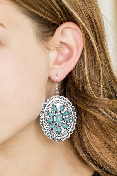 Paparazzi Accessories - Absolutely Apothecary - Blue Earrings - JMJ Jewelry Collection