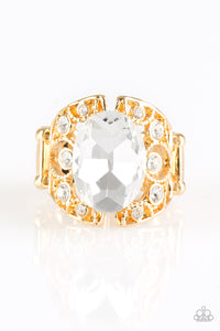 Paparazzi Accessories - Queen of Hustle - Gold Ring - JMJ Jewelry Collection