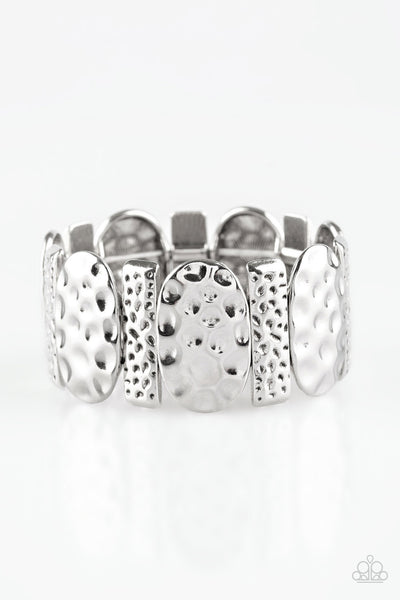 Paparazzi Accessories - Cave Cache - Silver Bracelets - JMJ Jewelry Collection