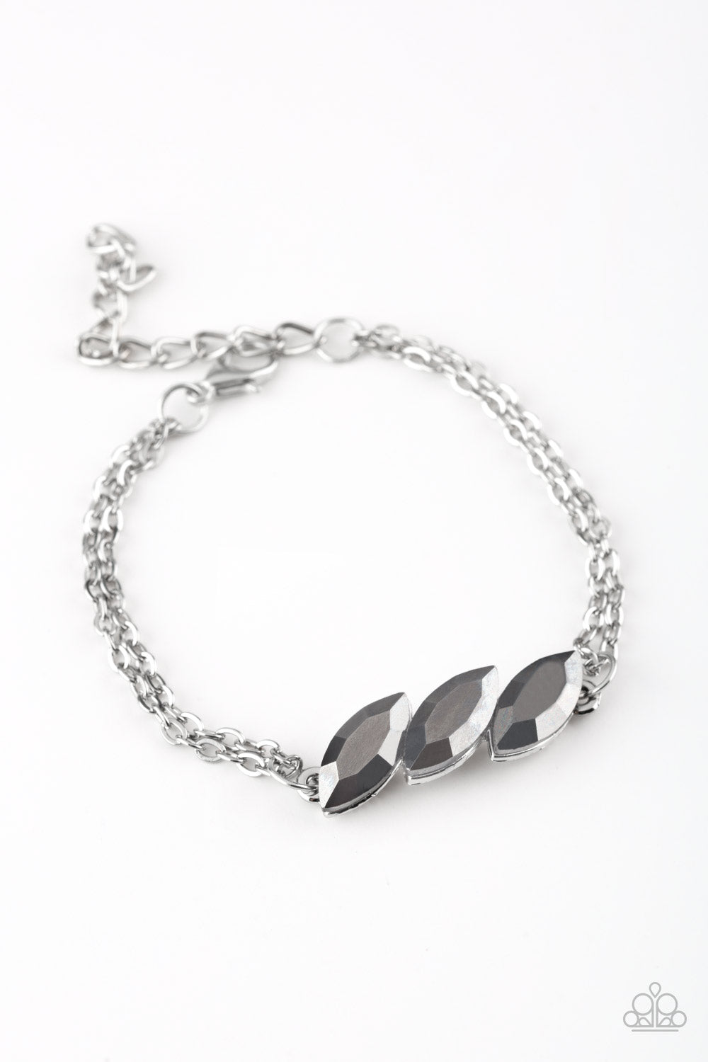 Paparazzi Accessories - Pretty Priceless - Silver Bracelets - JMJ Jewelry Collection