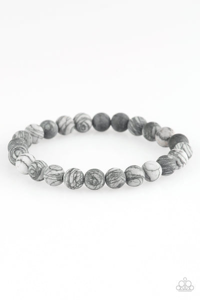 Paparazzi Accessories - Oblivion - Silver Bracelets - JMJ Jewelry Collection