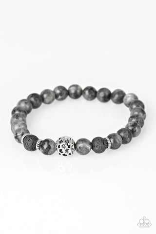 Paparazzi Accessories - Gratitude - Black Bracelets - JMJ Jewelry Collection