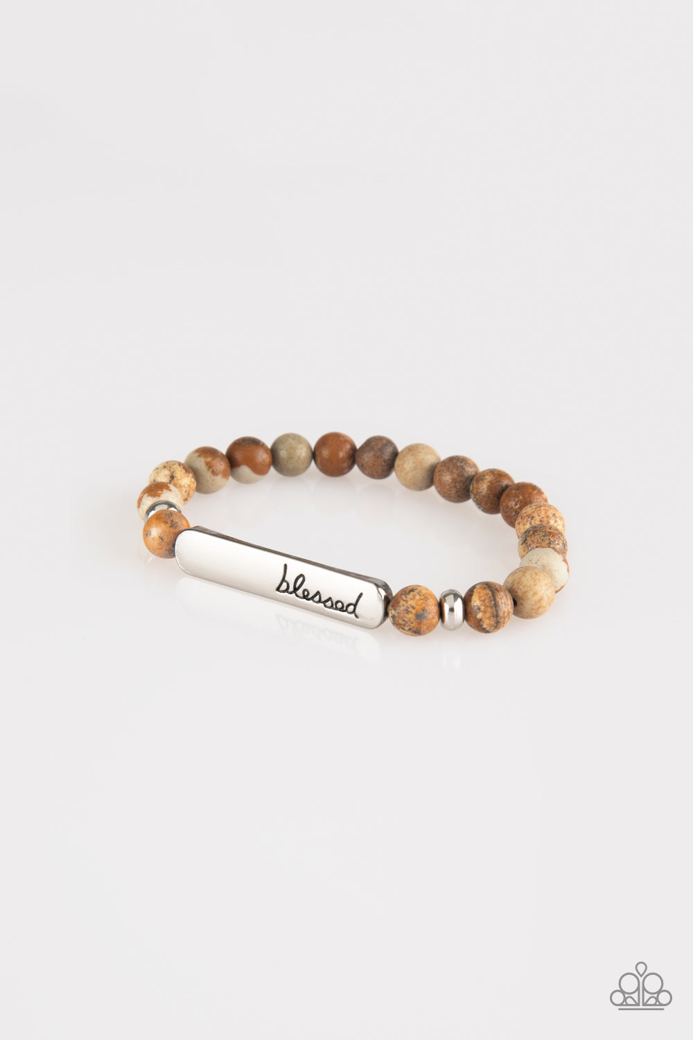 Paparazzi Accessories - Born Blessed - Brown Bracelets - JMJ Jewelry Collection
