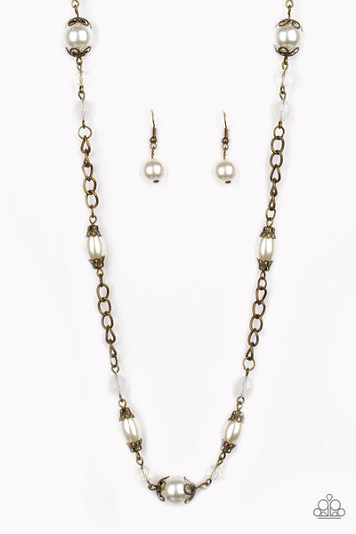 Paparazzi Accessories - Magnificently Milan - Brass Necklace Set - JMJ Jewelry Collection