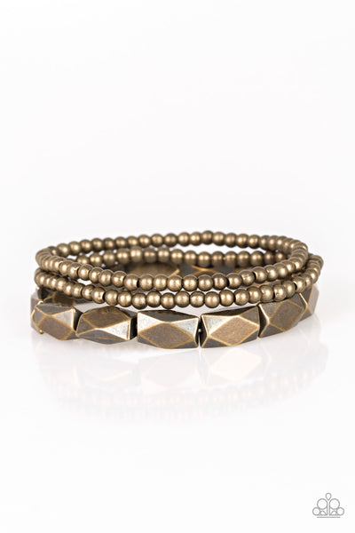 Paparazzi Accessories - Metal Movement - Brass Bracelets - JMJ Jewelry Collection